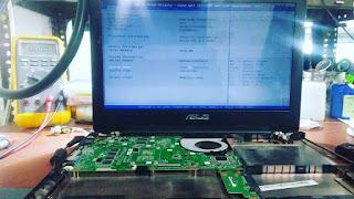 service laptop asus x455l mati di malang