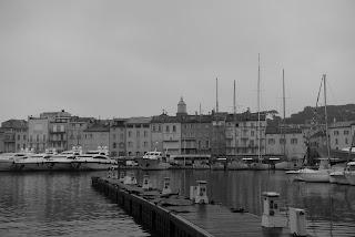 Il pleut à Saint-Tropez