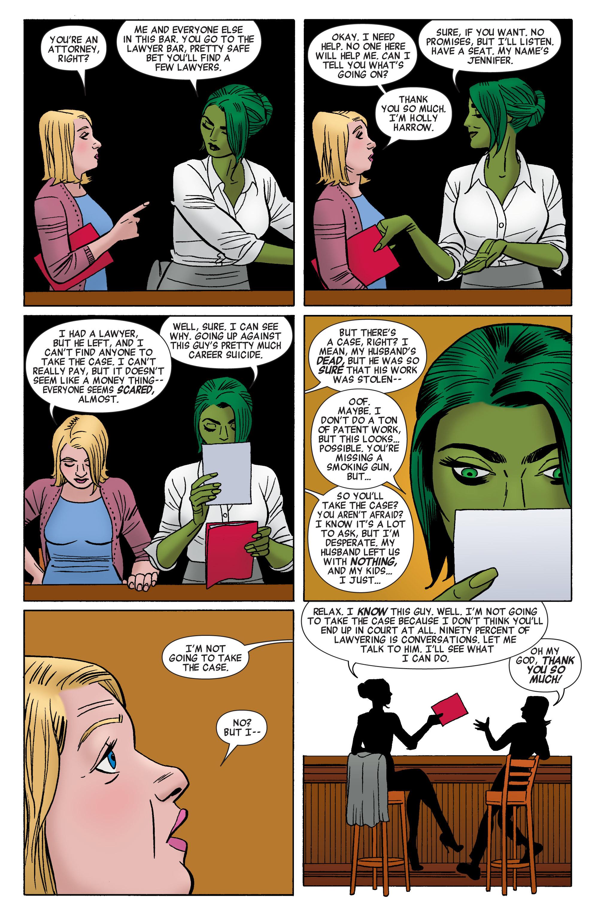 Read online She-Hulk (2014) comic -  Issue #1 - 10
