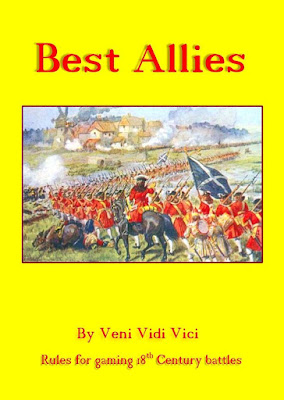 Best Allies, 18th century land warfare rules