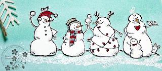 Stampin Up Schneemänner