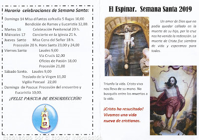 Semana Santa en El Espinar