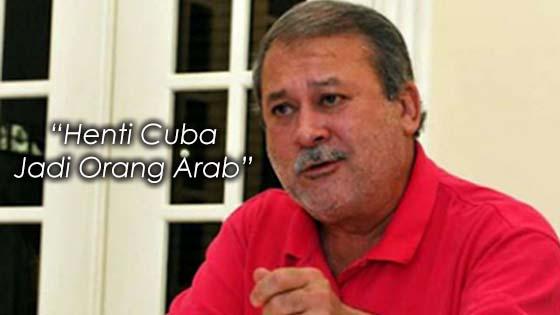 """""""Henti Cuba Jadi Orang Arab"""" -  Sultan Johor"""