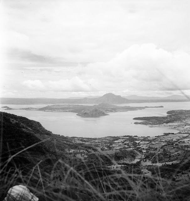 Taal Lake and Volcano, 1934.  Image source:  University of Wisconsin at Milwaukee.