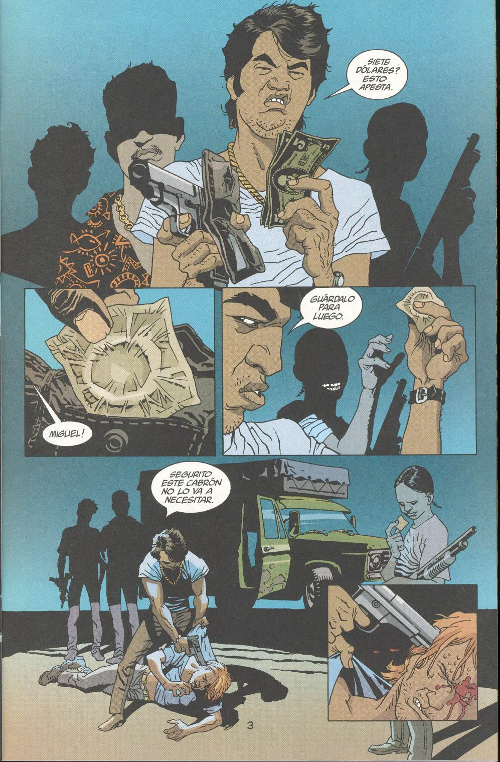 Read online 100 Bullets comic -  Issue #30 - 5