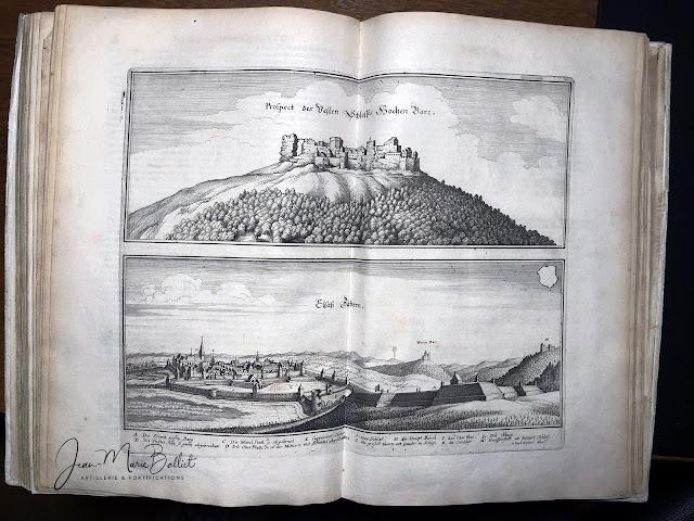 Merian - Topographia Alsatiæ (1644) — Haut-Barr et Saverne