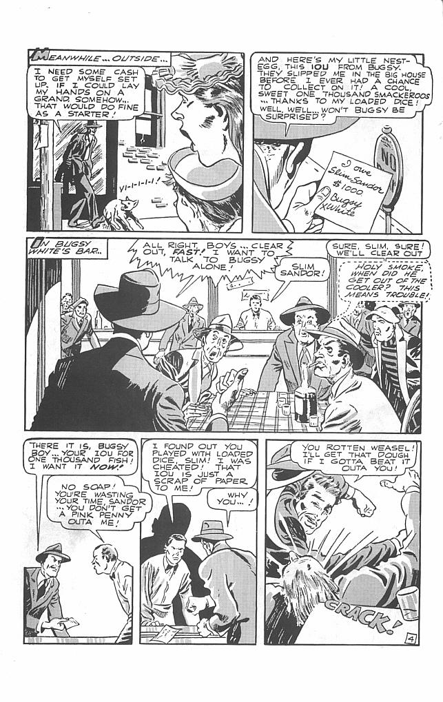 Read online Golden-Age Men of Mystery comic -  Issue #9 - 6