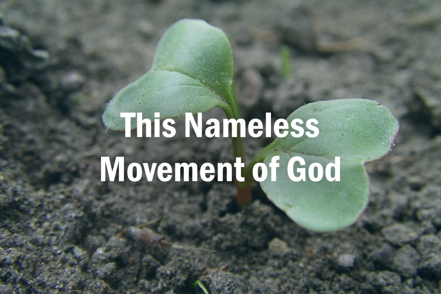This Nameless Movement of God