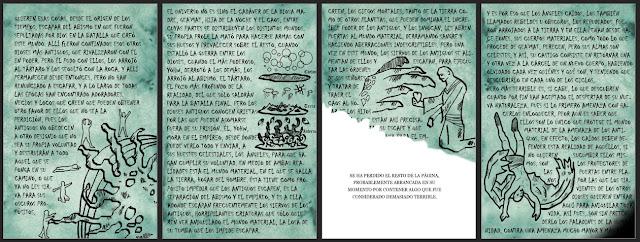"""alt=""""el manuscrito azul, balada de los caidos"""""""