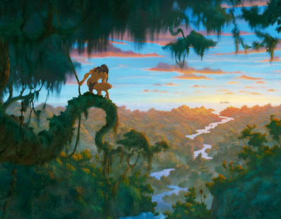 7 walt disney tarzan characters wallpaper for kids - Tarzan wallpaper ...