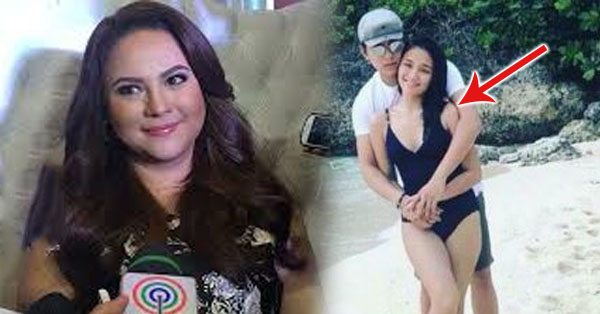 2uqiVaV Karla Estrada Reacted Towards The Photo Of Kathryn Bernardo With Her Son Daniel Wearing A Swimsuit!