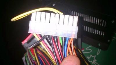 Arranque al vacío de fuente para conexión de ventiladores