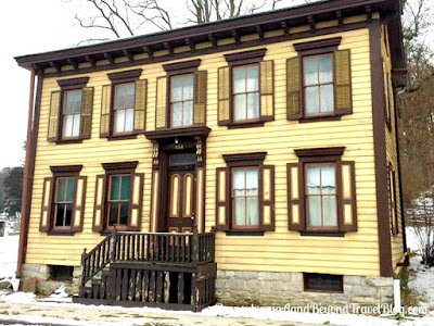 Historic William A. Heiss House in Mifflinburg Pennsylvania