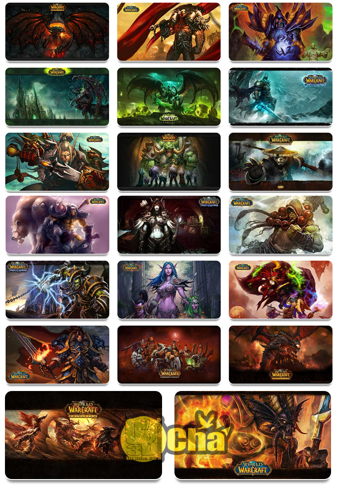 Download Theme Pack Game WORLD OF WARCRAFT  For Windows 10