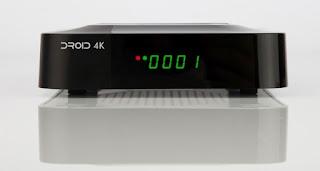 GIGABOX DROID 4K ATUALIZAÇÃO - Droid4K_Frontal