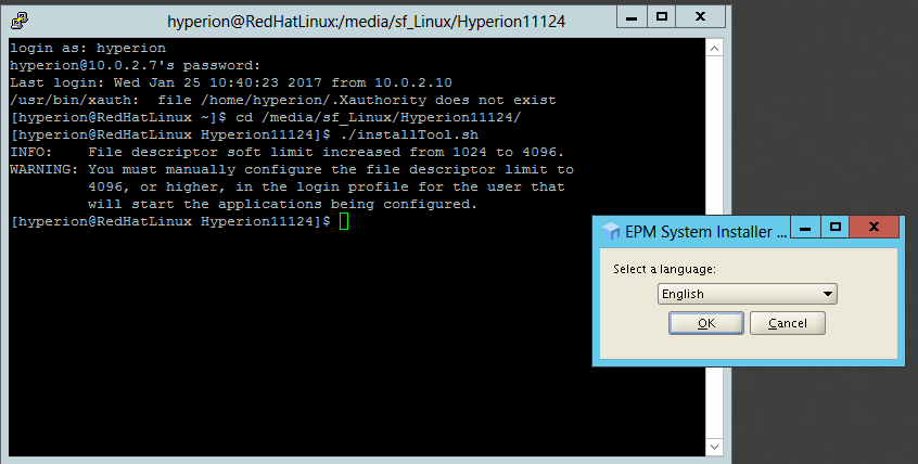 Exploits in Hyperion: Installing Hyperion EPM on a Linux box