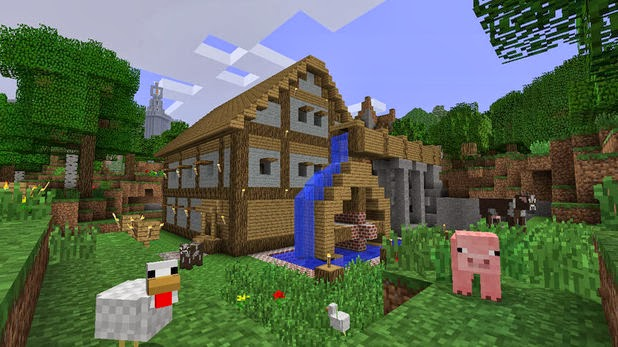 Minecraft - Xbox 360 Edition Tips/Creations: Notch's House
