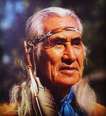 """Chief Dan George"", ""Native American"""