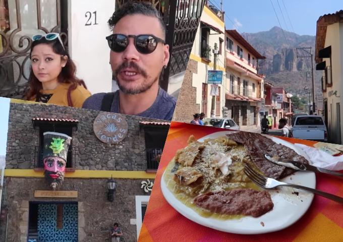 Video: Dominicano recorre Tepoztlán, México