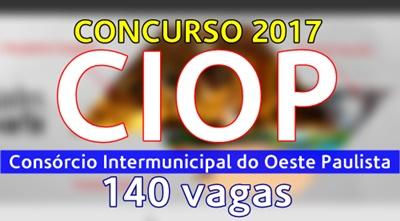 Concurso Público CIOP SP 2017