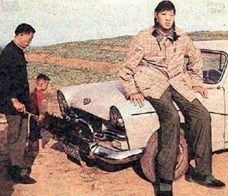 Zeng Jinlian, la mujer más alta de la historia