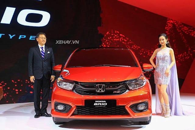 Honda Brio 2018 chính thức ra mắt thị trường Việt Nam