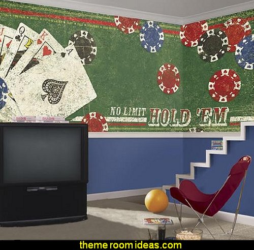 No Limit Hold 'em Wall Mural