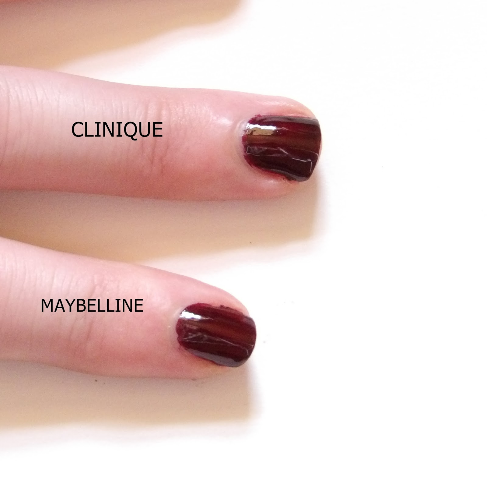 CLINIQUE BLACK HONEY VS MAYBELLINE BURGUNDY KISS