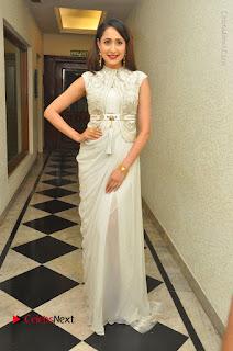 Actress Pragya Jaiswal Stills in Beautiful White Dress at turodu Audio Launch  0038.JPG