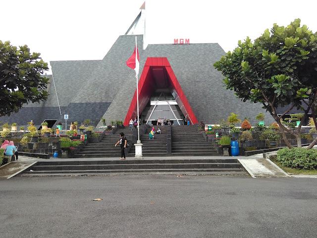Berkunjung ke Museum Gunungapi Merapi
