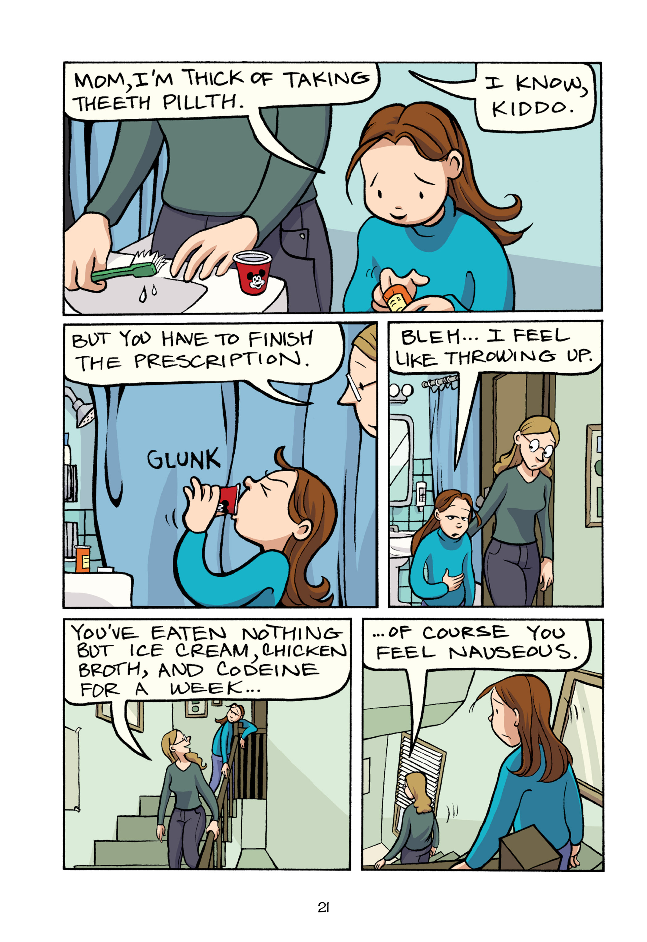 Read online Smile comic -  Issue # TPB - 27