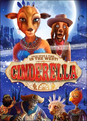Poster Of Cinderella Once Upon a Time in West (2012) In Hindi English Dual Audio 300MB Compressed Small Size Pc Movie Free Download Only At worldfree4u.com