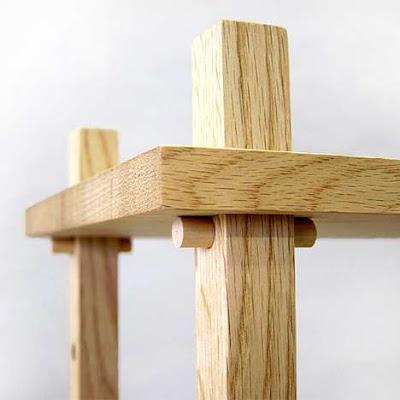 Mesa desarmable de mader