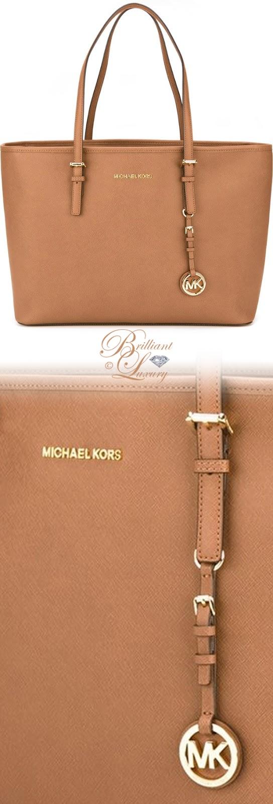 Brilliant Luxury ♦ Michael Michael Kors Medium 'Jet Set Travel' Tote