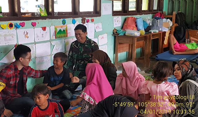 Pulihkan Psikologi Anak Korban Tsunami, Kodim 0421 Kerjasama dengan UI
