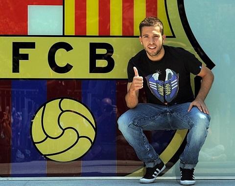 Alba gia nhập Barca từ năm 2012