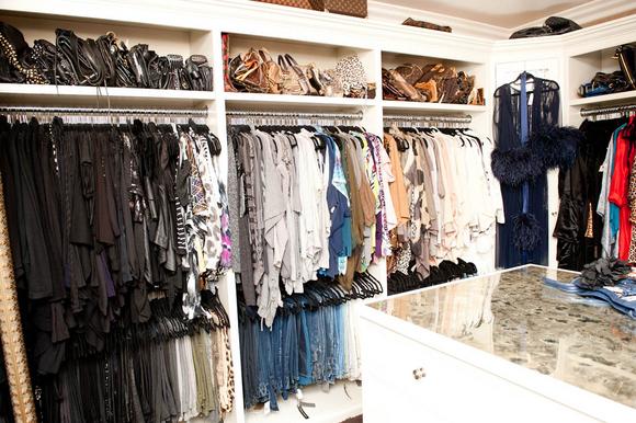 Inside Khloe Kardashian's Closet - Provocative Woman