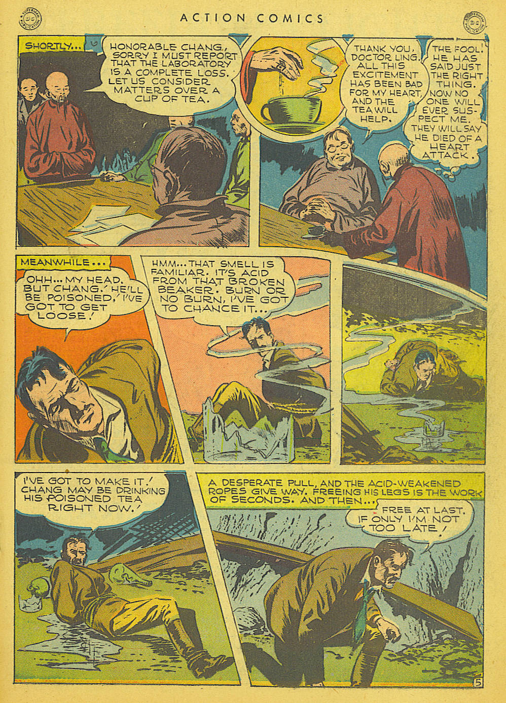 Read online Action Comics (1938) comic -  Issue #91 - 27