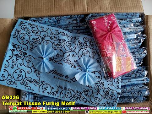 jual Tempat Tissue Furing Motif