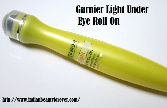 Garnier Light Under Eye Roll