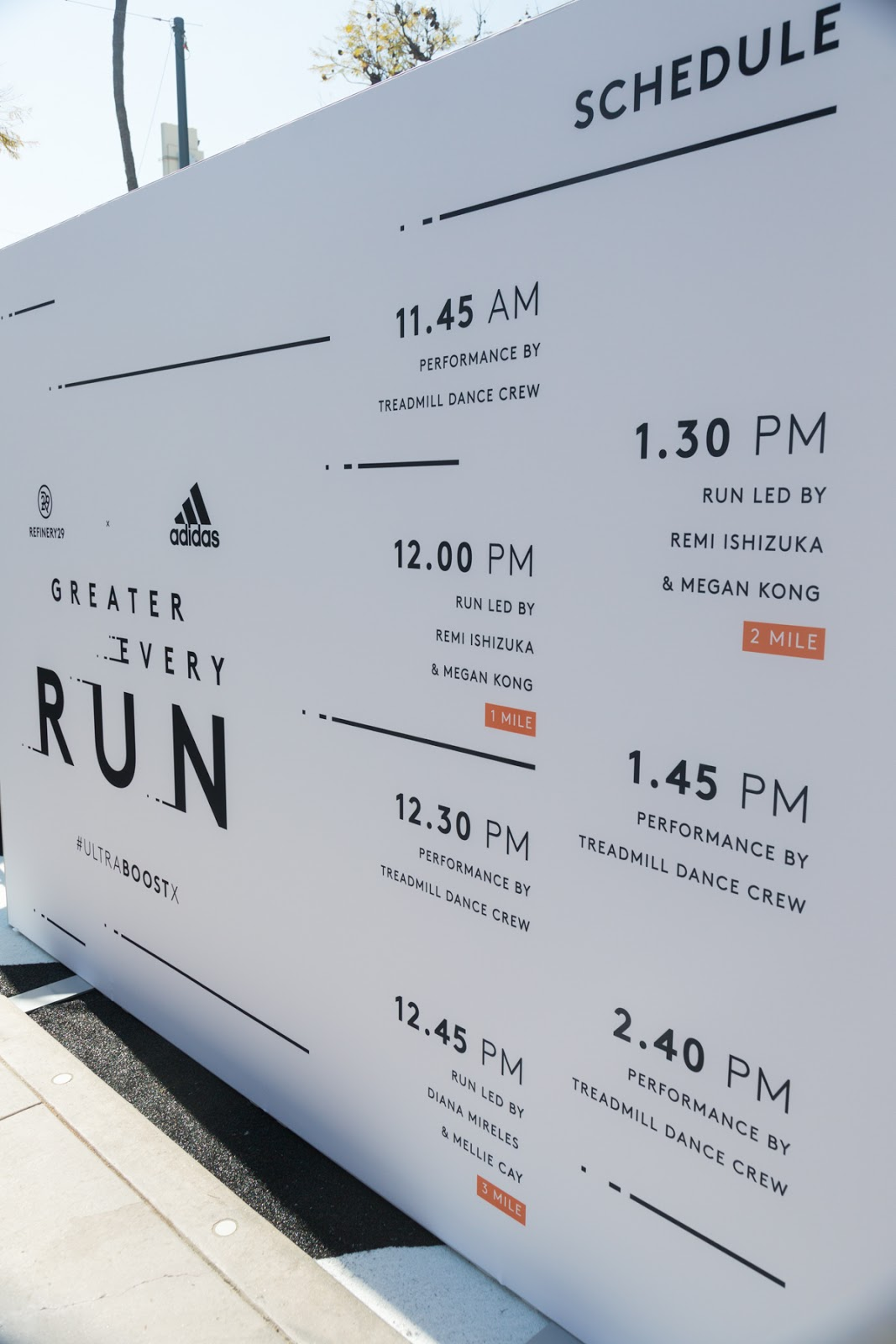 33e51158f1065 Refinery29 X adidas Running  Greater Every Run Event in Santa Monica ...