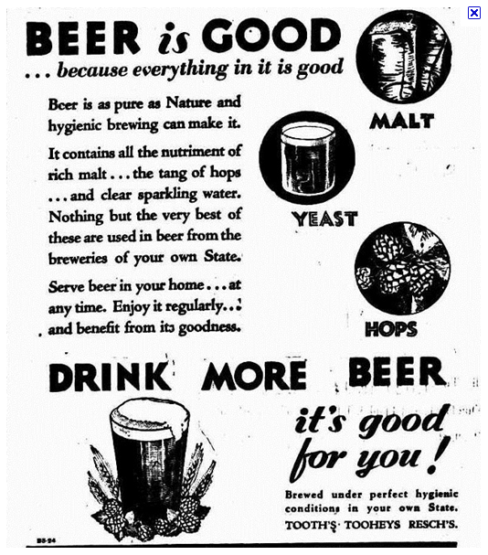 Pure Mormonism: Too Bad I Don't Like Beer