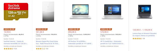Mejores ofertas Lenovo Days y Del Día