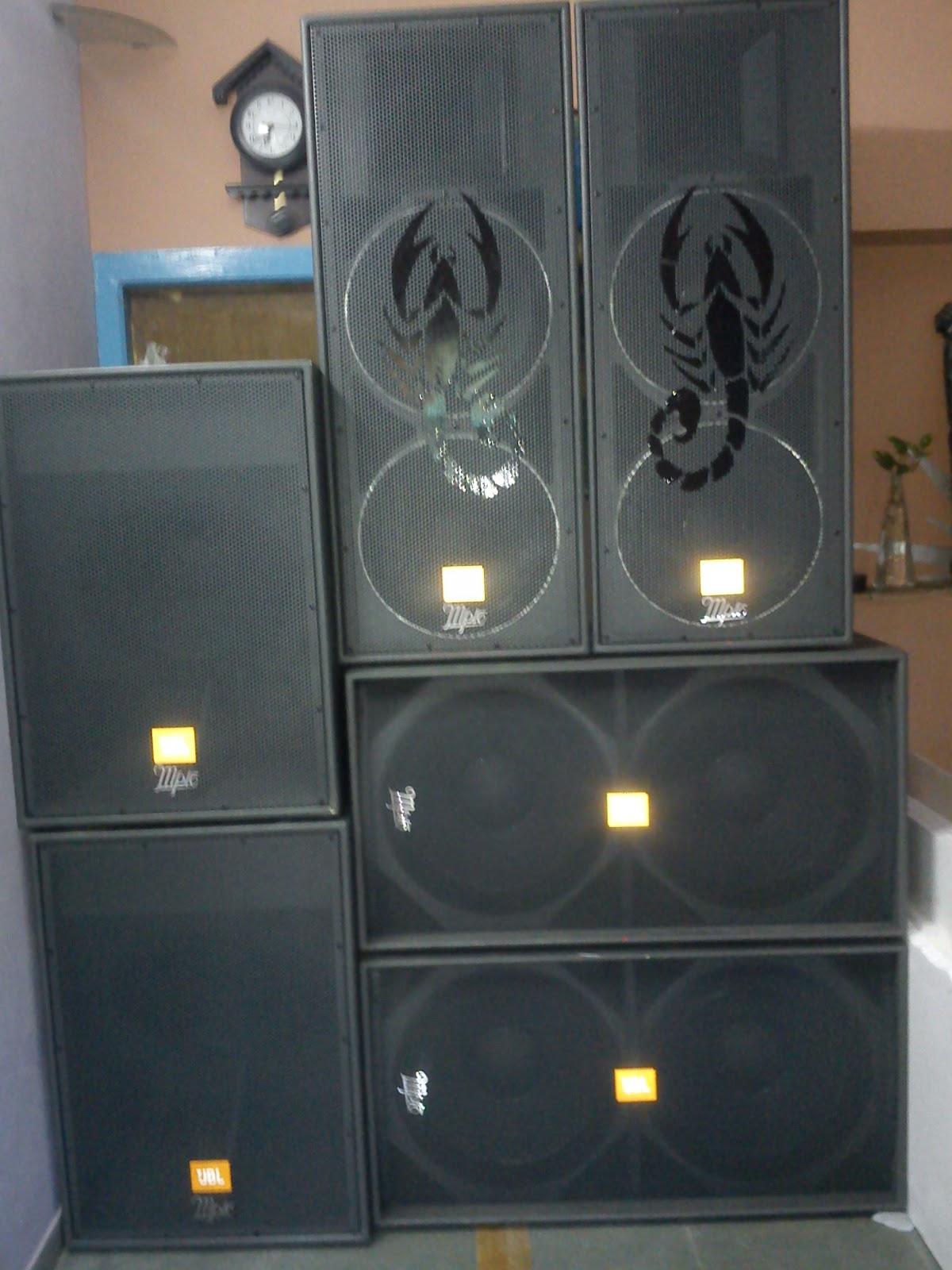 Divyank Infotech Dj System To Mpro Bass An Speakers