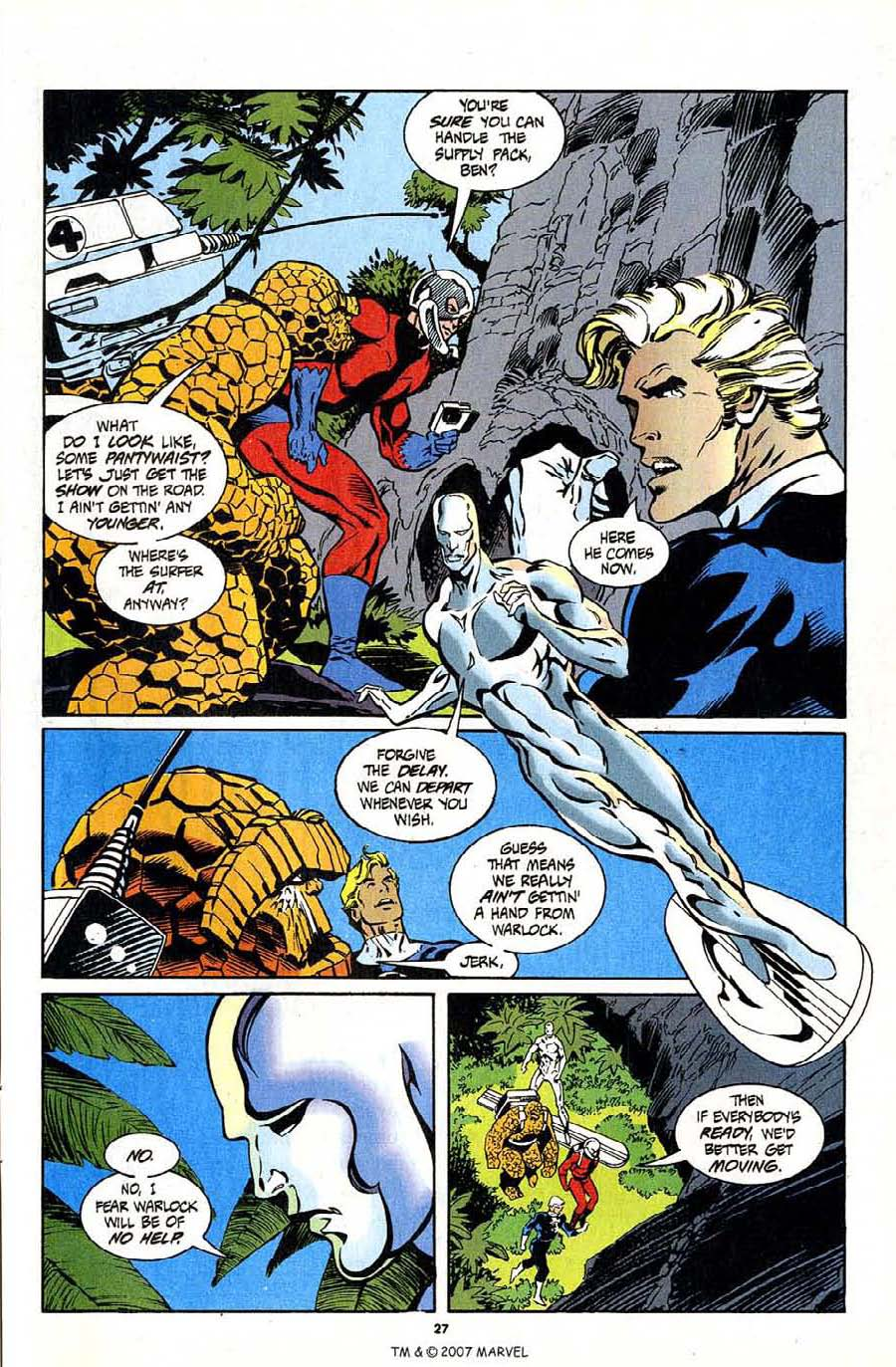 Read online Silver Surfer (1987) comic -  Issue #94 - 29