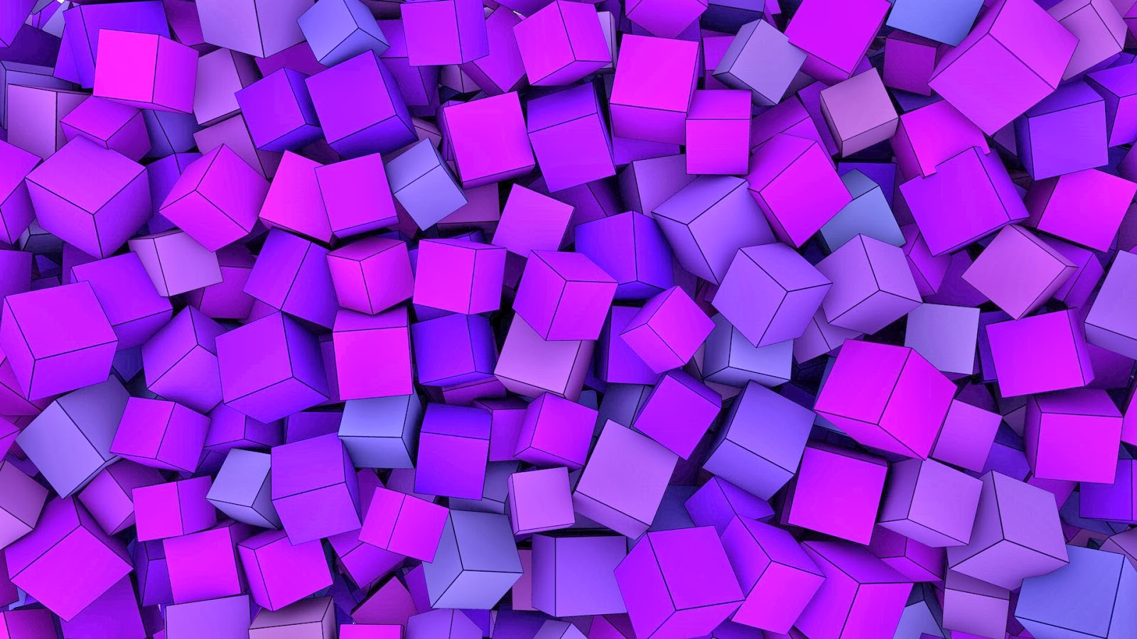 Imagenes hilandy fondo de pantalla abstracto cubos morados for Fondos de escritorio gratis