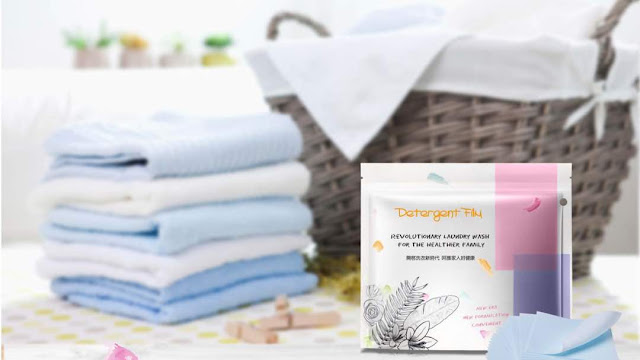 Zing+ Detergent Film Mudahkan Kerja Mencuci