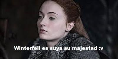 Sansa Stark en Game of Thrones 8x01