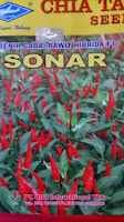 Cabai Sonar, Cabe Sonar, Rawit Sonar,benih petani,tahan virus, buah lebat, cap kapal terbang, tahan layu, tahan cekaman calcium