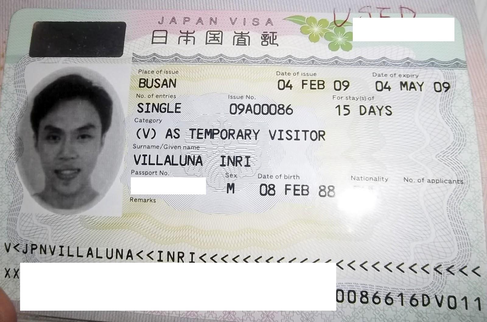 Japan Visiting Visa To Get How 45